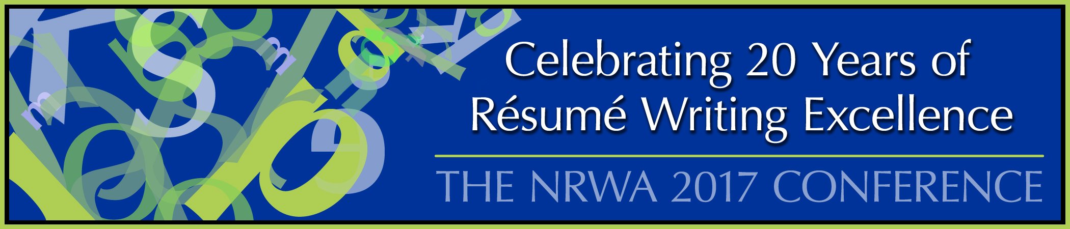 The National Resume Writers Association 2017 Conference